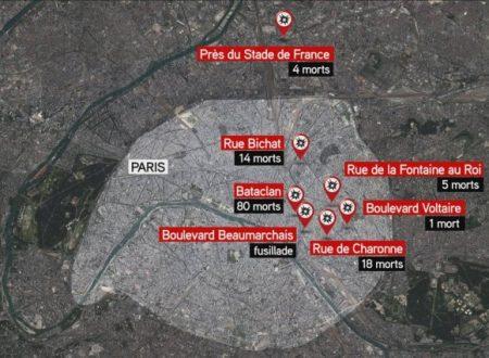 Gli attacchi terroristici a Parigi